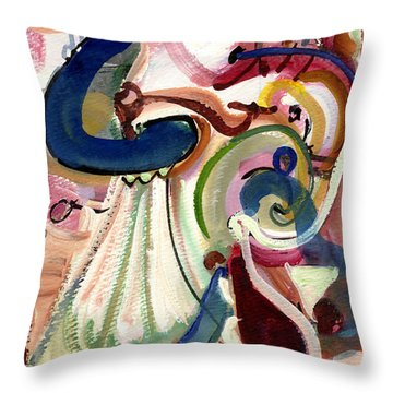 Spanish Rose Throw Pillow by Stephen Lucas