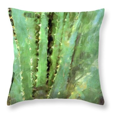 Spanish Sword Throw Pillow