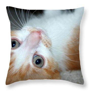 Spankie Throw Pillow