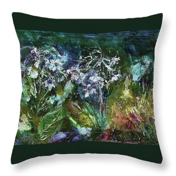 Sparkle In The Shade Throw Pillow