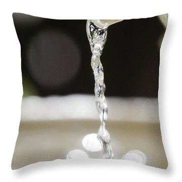 Throw Pillow featuring the photograph Sparkle by Leticia Latocki