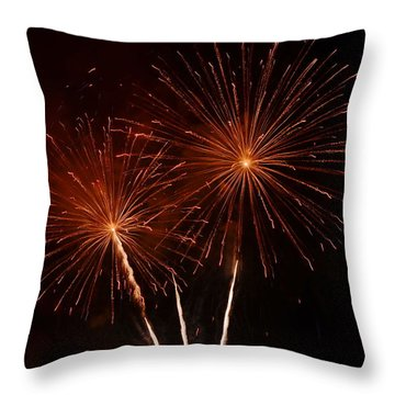 Throw Pillow featuring the photograph Sparkle by Linda Mishler