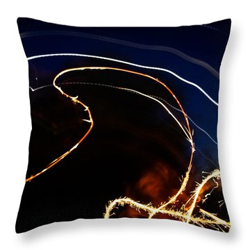 Sparkler Throw Pillow