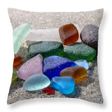 Throw Pillow featuring the photograph Sparklers by Janice Drew