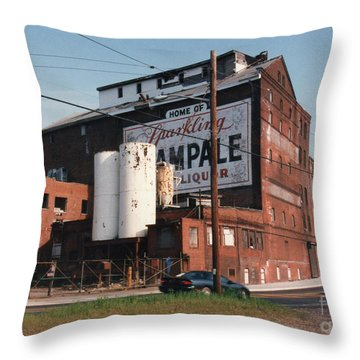 Sparkling Champale Throw Pillow by Lyric Lucas