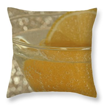 Sparkling Citrus Moments Throw Pillow by Inspired Nature Photography Fine Art Photography