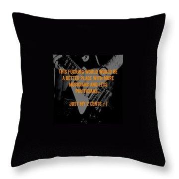 Politicians Throw Pillows