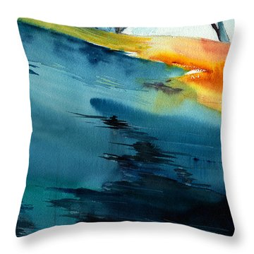 Spatial 1 Throw Pillow