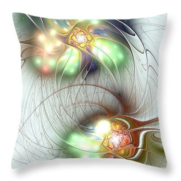 Special Bond Throw Pillow by Anastasiya Malakhova