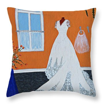 Special Day Throw Pillow by Barbara Griffin