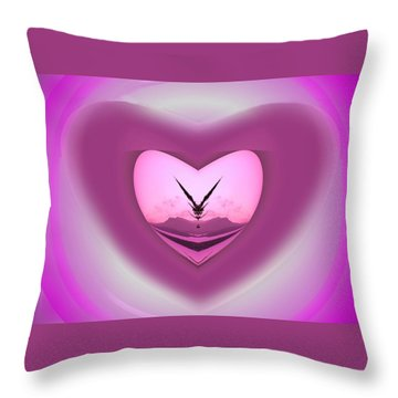 Special Delivery Throw Pillow by Mike Breau