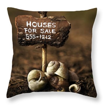 Special Offer Throw Pillow