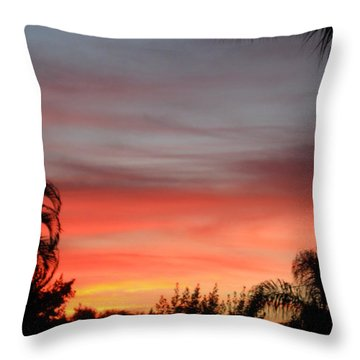 Spectacular Sky View Throw Pillow