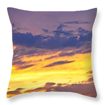 Spectacular Sunset Throw Pillow by Elena Elisseeva