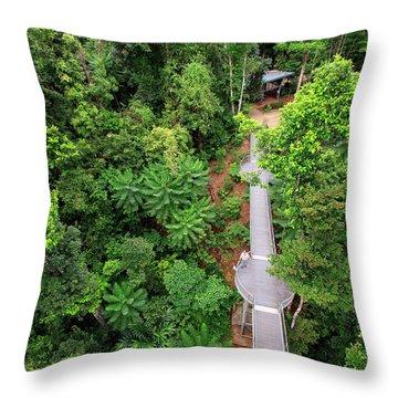 Far North Queensland Throw Pillows