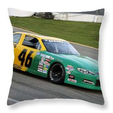 Speed Throw Pillow by Shoal Hollingsworth
