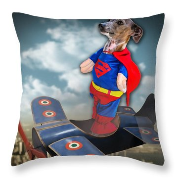 Speedolini Flying High Throw Pillow