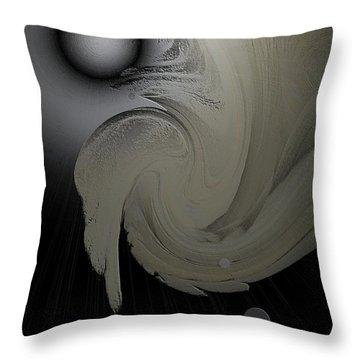 Spell-1 Throw Pillow