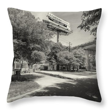 Spencer Farlow Drive Image Art Throw Pillow