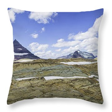 Sperry Glacier Basin Throw Pillow