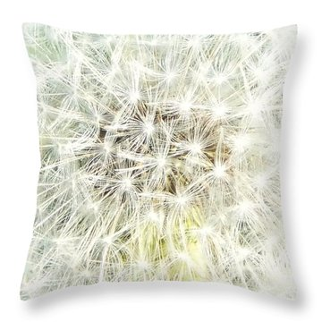 Sphere De Pissenlit Throw Pillow