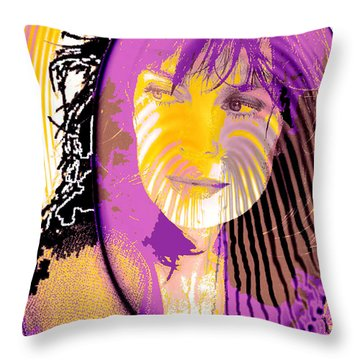 Sphere Of Influence Throw Pillow by Seth Weaver