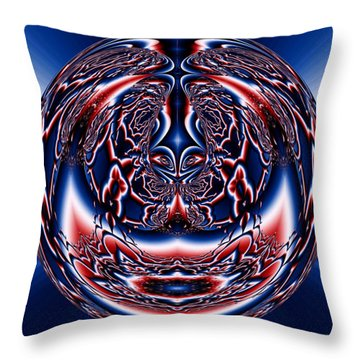 Spherical Art No 5 Throw Pillow