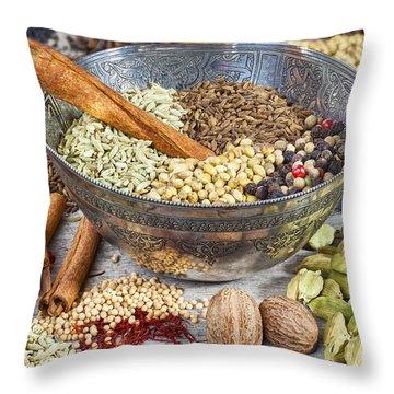 Nutmeg Throw Pillows
