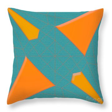 Spider  Mill Throw Pillow