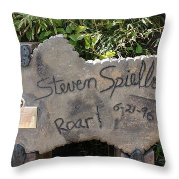 Spielberg's Ride Throw Pillow