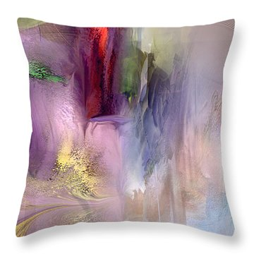 Spikemoss 5 Throw Pillow