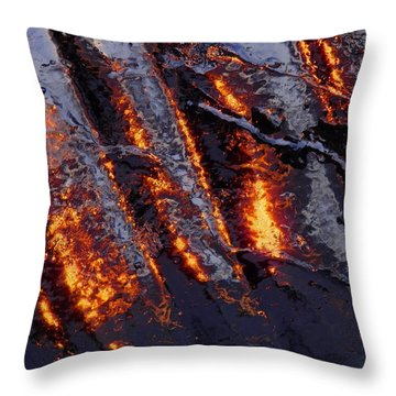 Spiking 3 Throw Pillow by Sami Tiainen