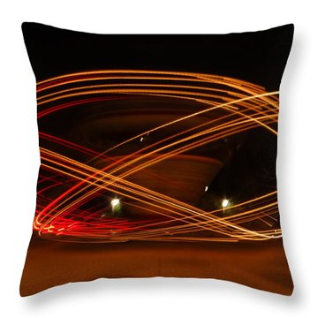 Spin Me Round Throw Pillow