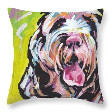 Spin One Baby Throw Pillow