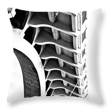 Spina Throw Pillow by Matthew Blum