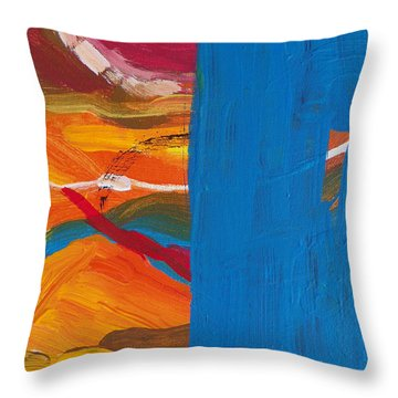 Spinal Block Throw Pillow