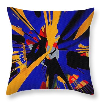 Spinart Revival II Throw Pillow