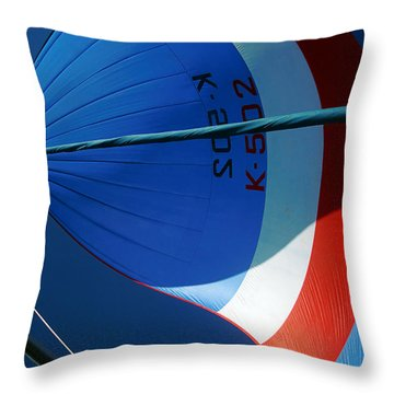 Spinnaker Flying Throw Pillow