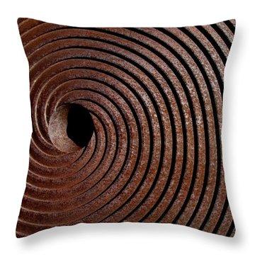 Spiral Throw Pillow by David Pantuso