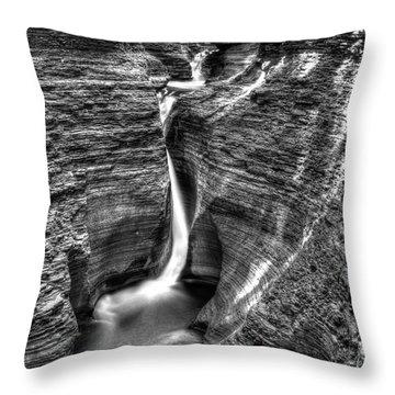 Spiral Gorge Watkins Glen Throw Pillow