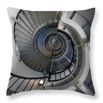 Throw Pillow featuring the photograph Spiral by Laurie Perry