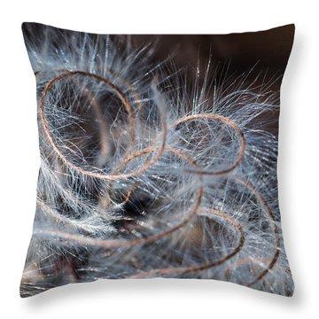 Spiral Of Life Throw Pillow by Jivko Nakev