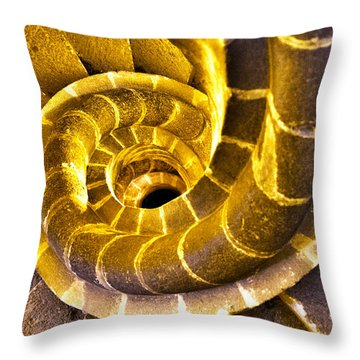 Spiral Staircase IIi Throw Pillow