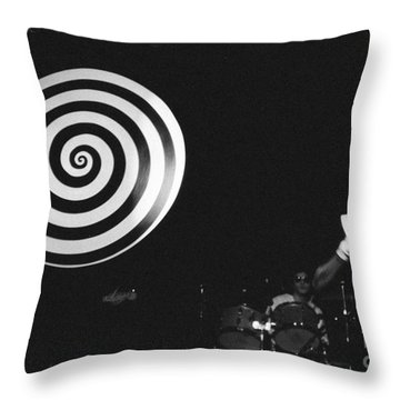 Throw Pillow featuring the photograph spiral universe of Klaus by Steven Macanka