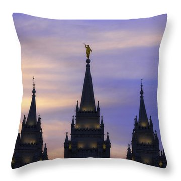 Spires Throw Pillow by Chad Dutson