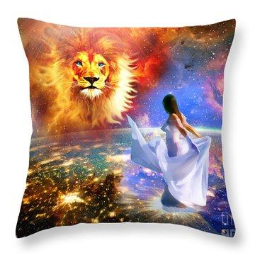 Spirit And Truth Throw Pillow