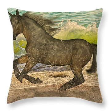 Spirit Imagined Throw Pillow