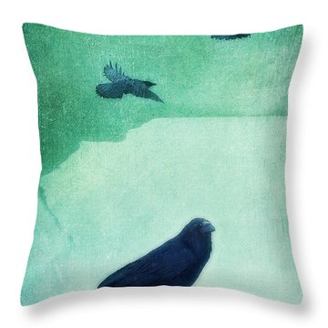 Spirit Bird Throw Pillow