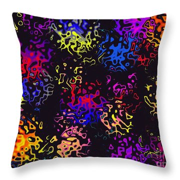 Throw Pillow featuring the photograph Spirit Catchers by Mark Blauhoefer