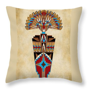 Spirit Chief Throw Pillow